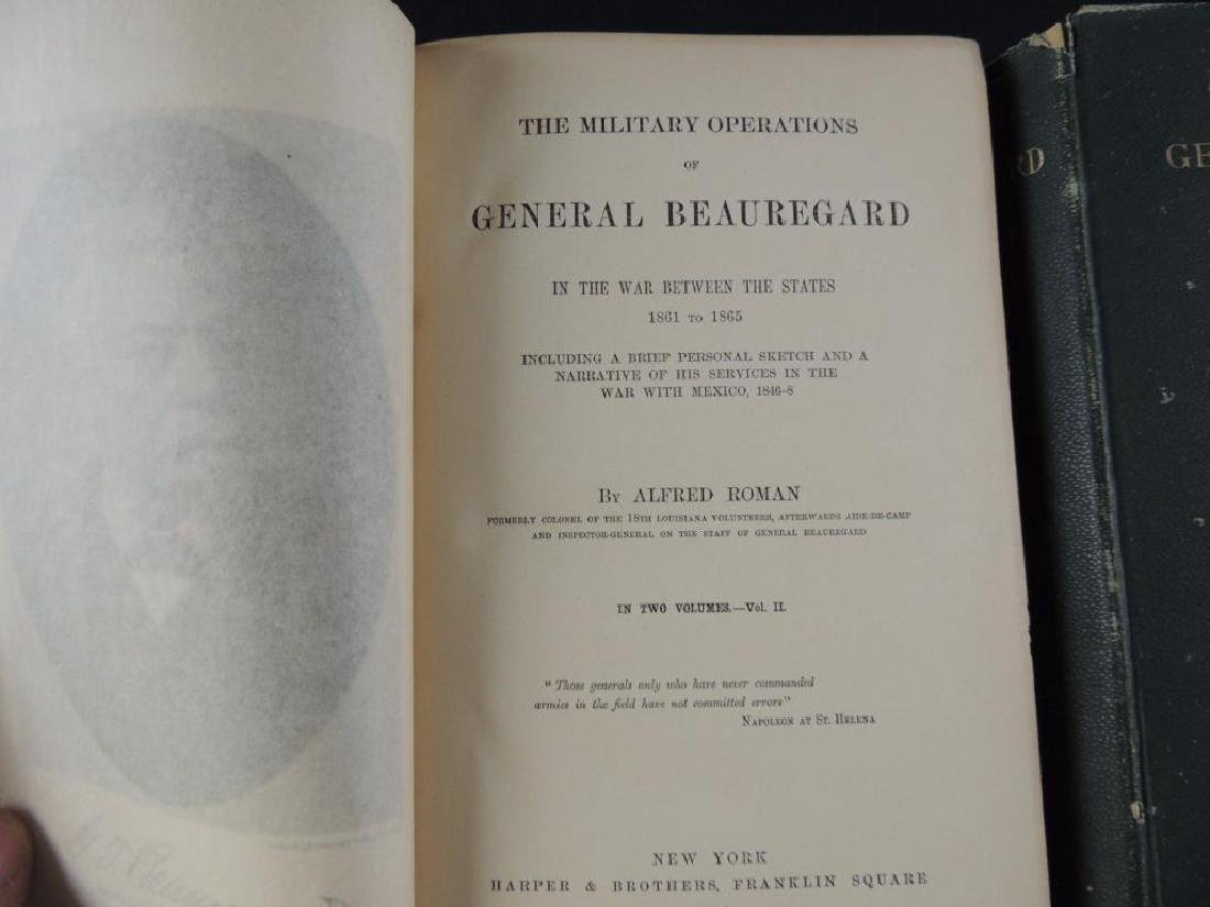 1883 Military Operations of General Beauregard by - 4