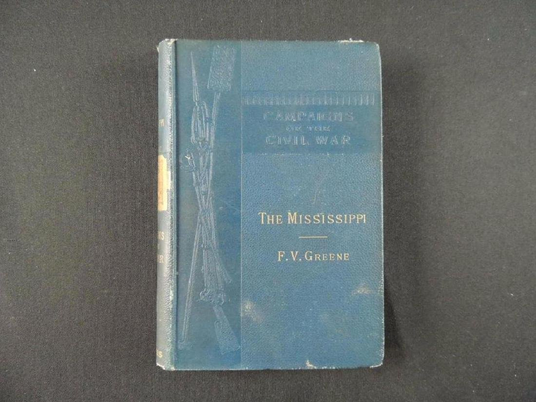 1882 Campaigns of the Civil War The Mississippi by F.V.
