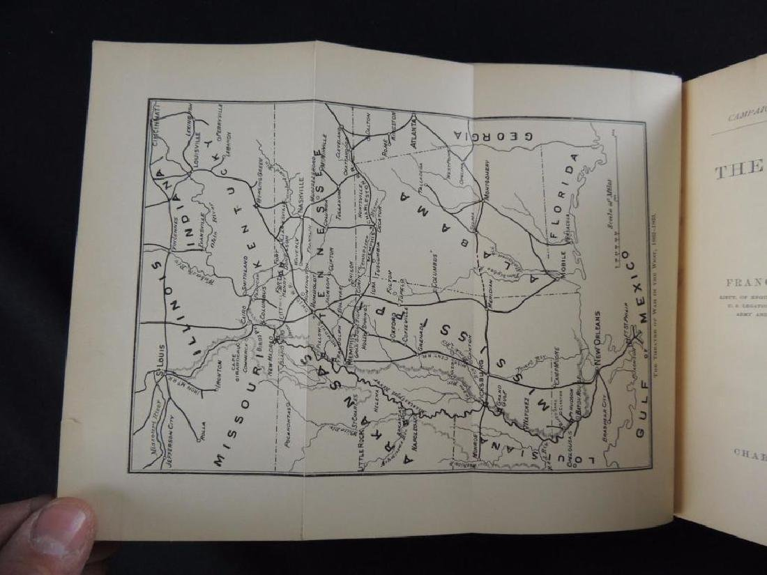 1882 Campaigns of the Civil War The Mississippi by F.V. - 3