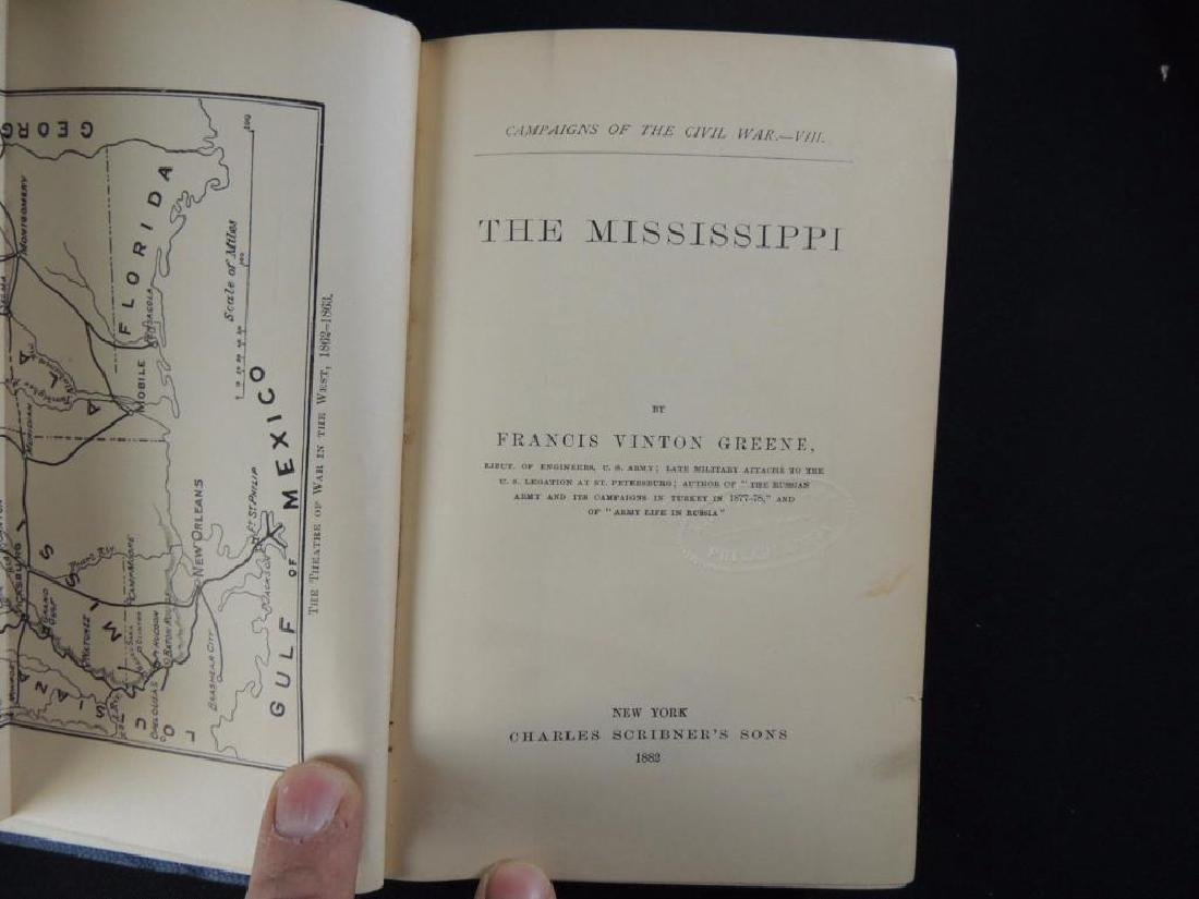 1882 Campaigns of the Civil War The Mississippi by F.V. - 4