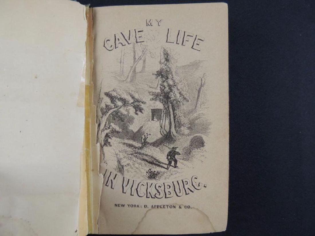 1864 My Cave Life in Vicksburg by A Lady First Edition - 3