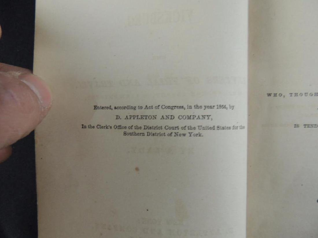 1864 My Cave Life in Vicksburg by A Lady First Edition - 5