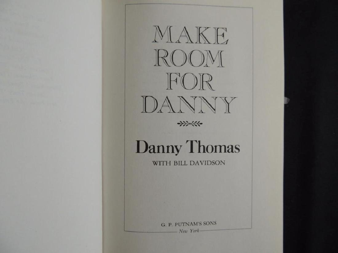 Signed Make Room For Danny by Danny Thomas First - 3