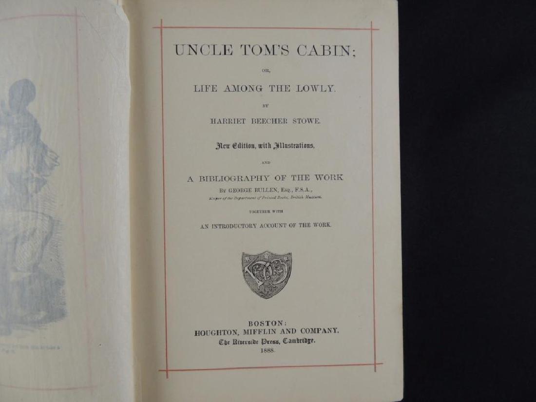 1888 Uncle Tom's Cabin by Harriet Beecher Stowe - 4