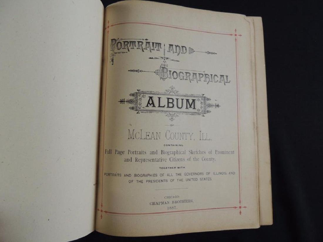 1887 Portrait and Biographical Album of McLean County - 2