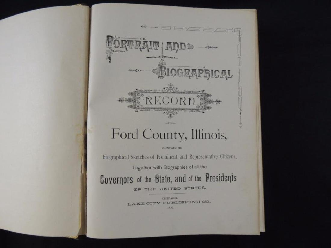 1892 Portrait and Biographical Album of Ford County - 3