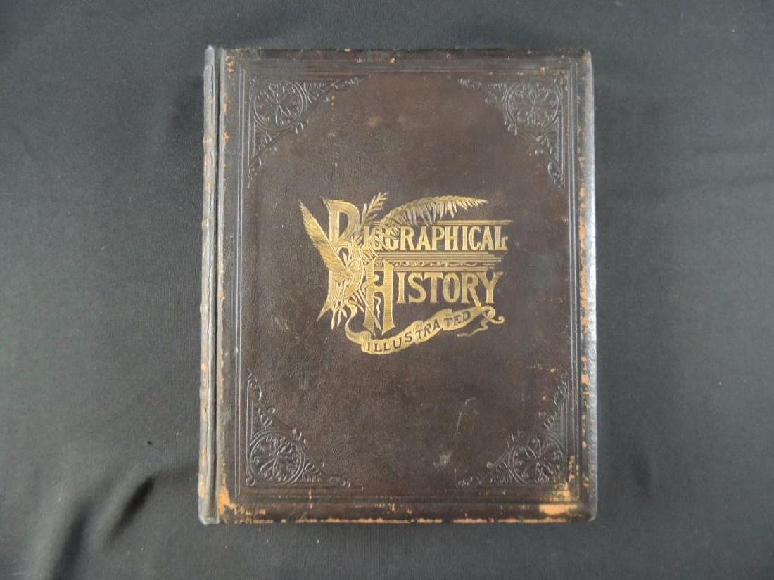 1900 The Biographical Record of Whiteside County Ill.