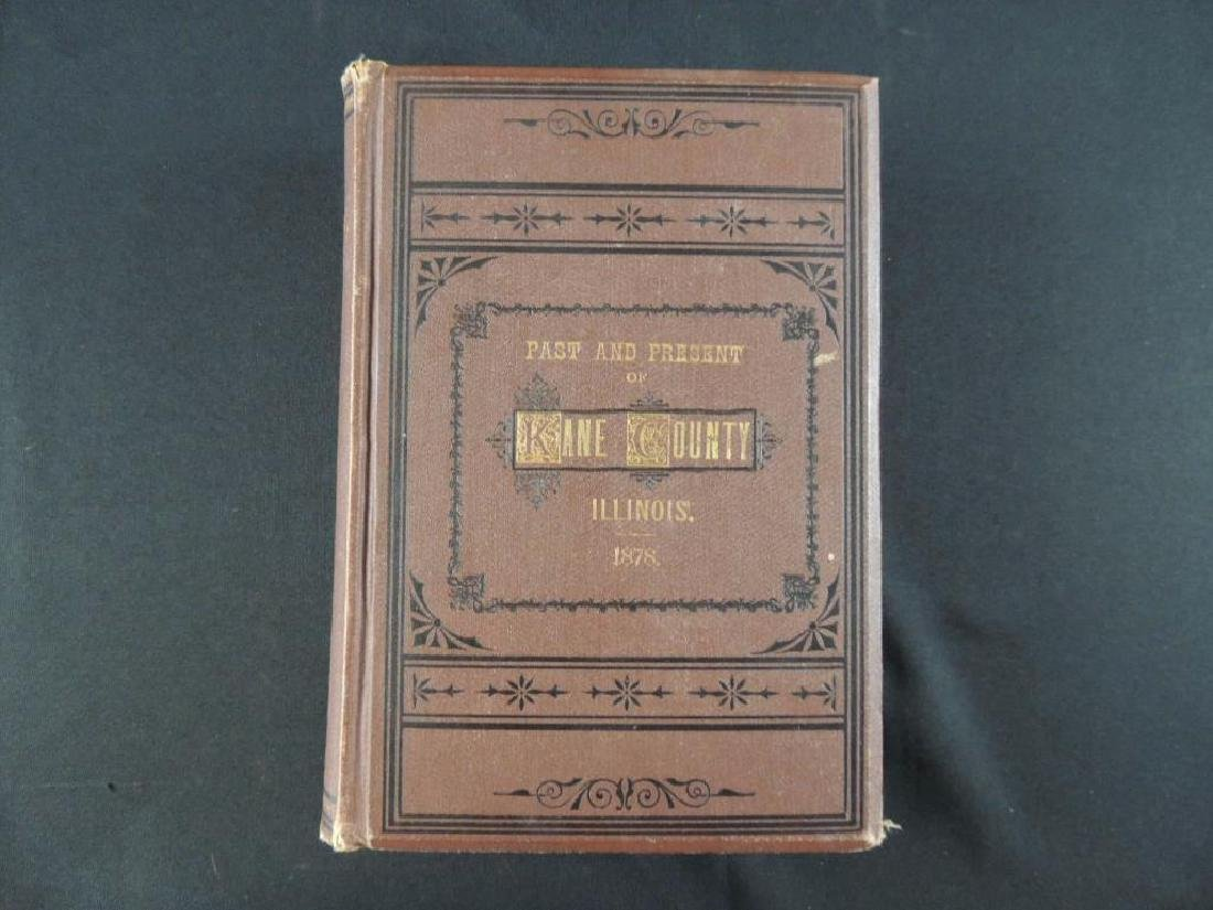 1878 The Past and Present of Kane County Illinois