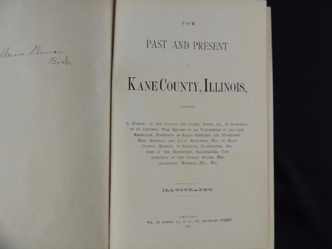 1878 The Past and Present of Kane County Illinois - 2
