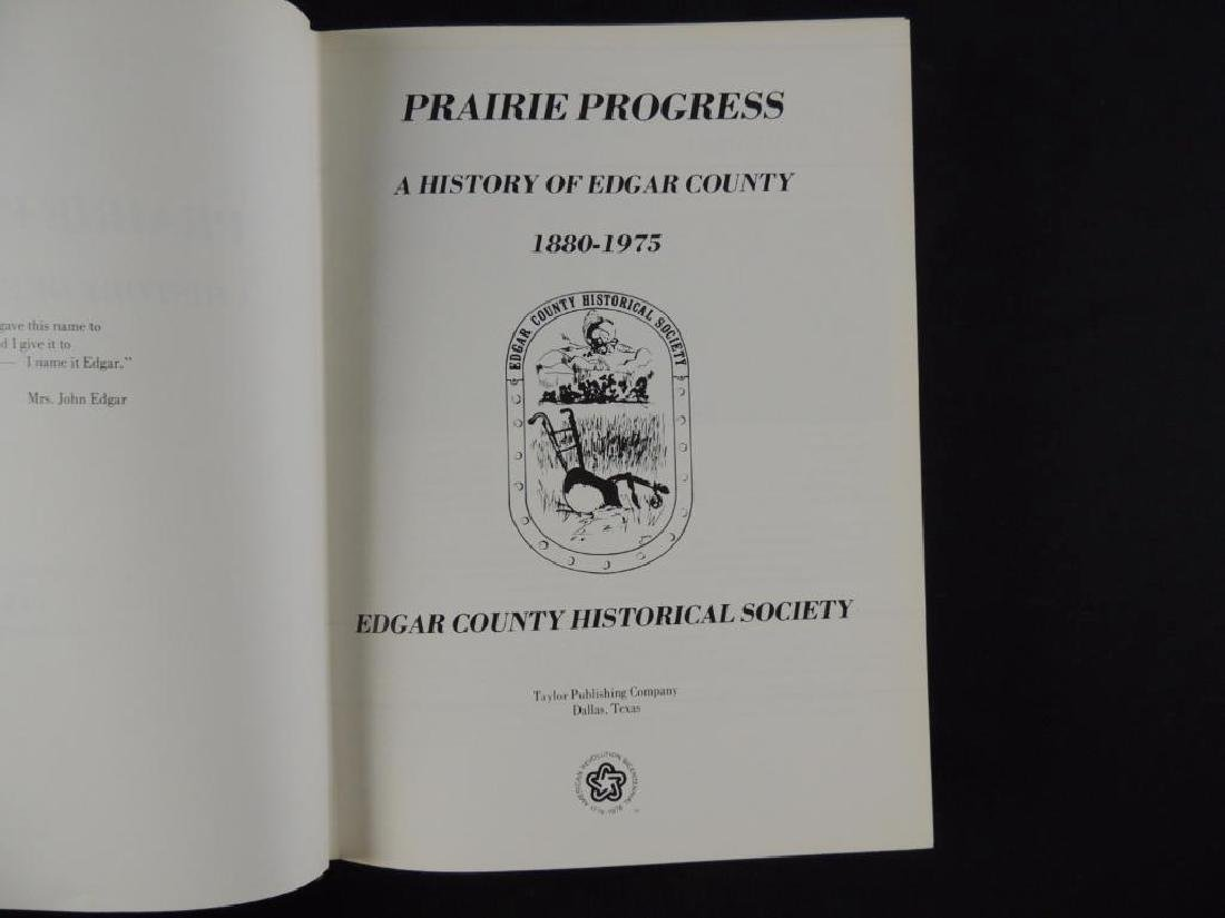 Prairie Progress A History of Edgar County Ill. - 5