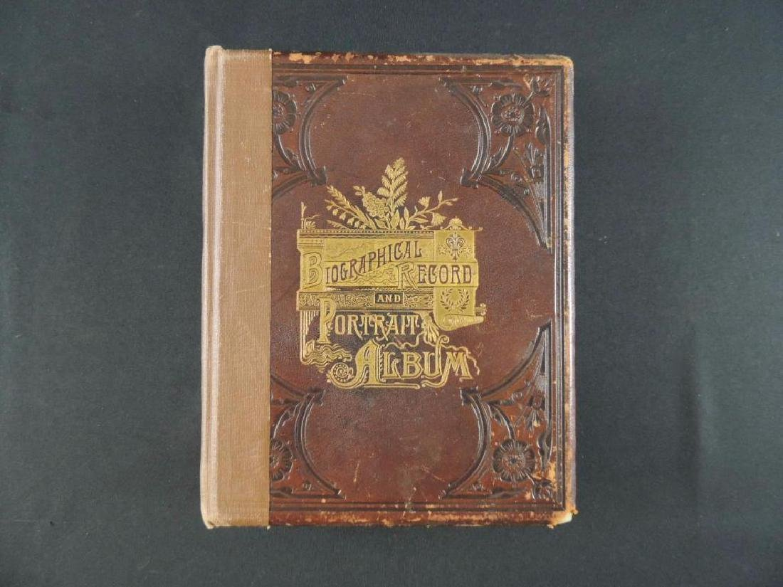 1888 Biographical Record and Portrait Album of Wedster
