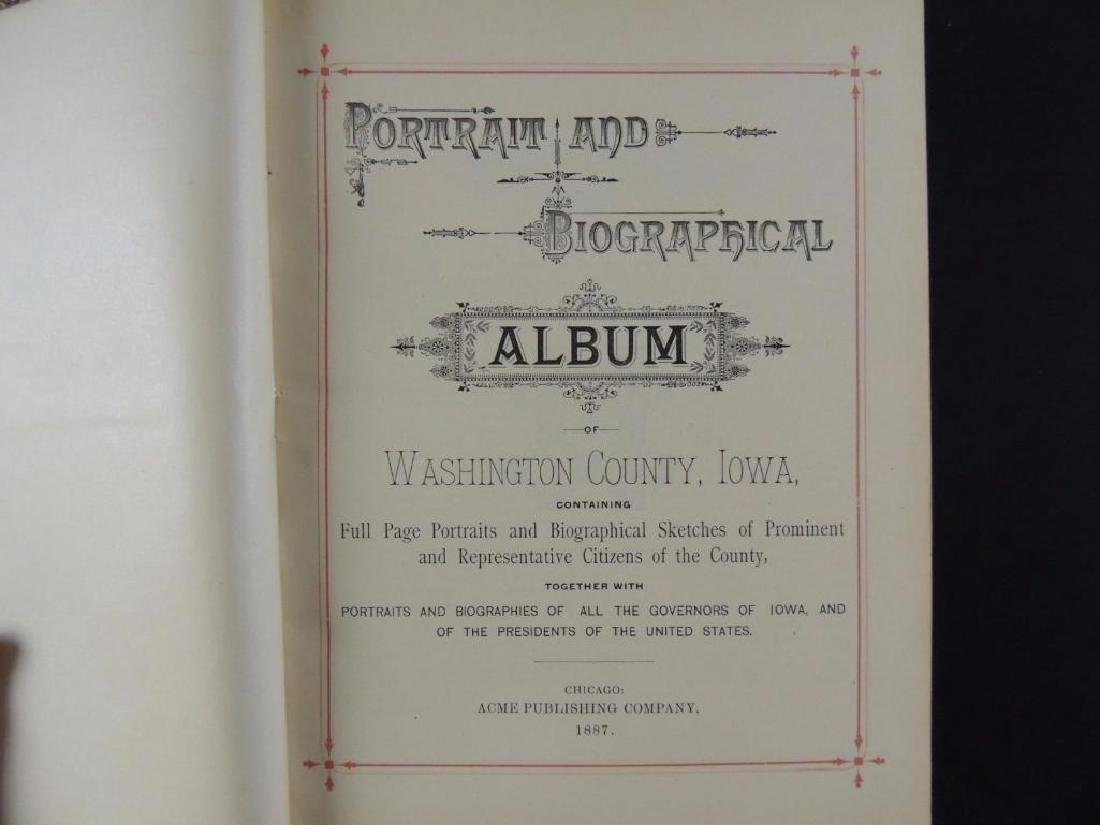 1887 Portrait and Biographical Album of Washington - 2