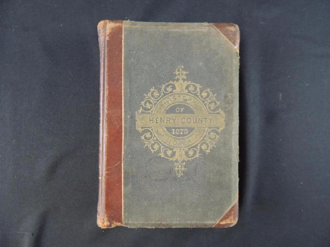 1879 The History of Henry County Iowa