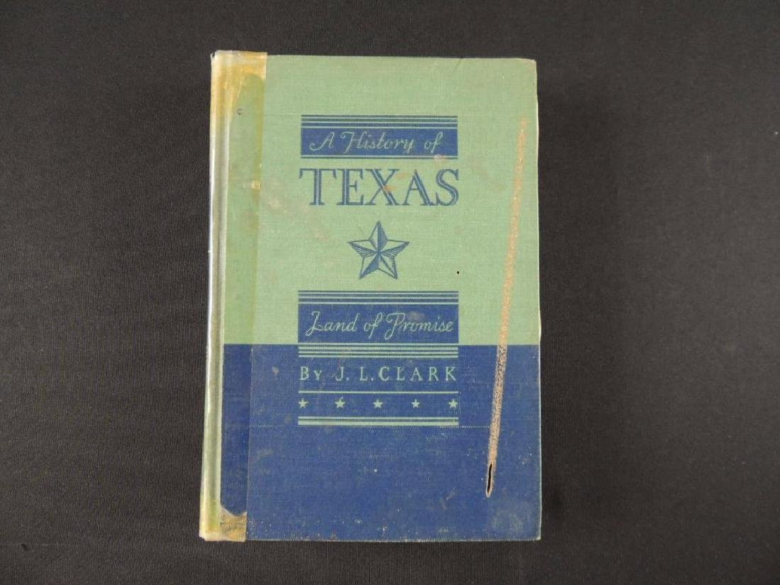 1939 A History of Texas Lad of Promise by Joseph L.
