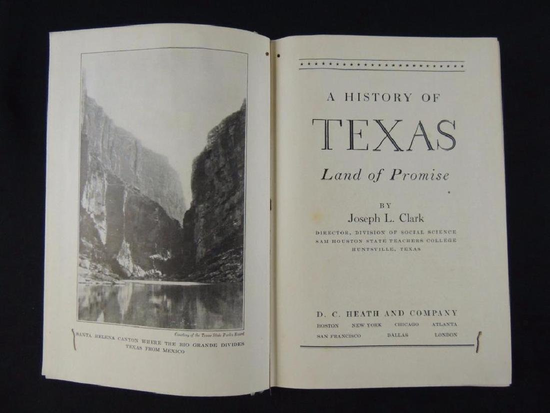 1939 A History of Texas Lad of Promise by Joseph L. - 2