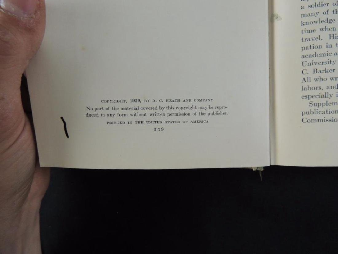 1939 A History of Texas Lad of Promise by Joseph L. - 3