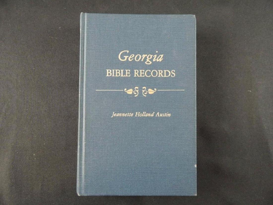 Georgia Bible Record by Jeanette Holland Austin