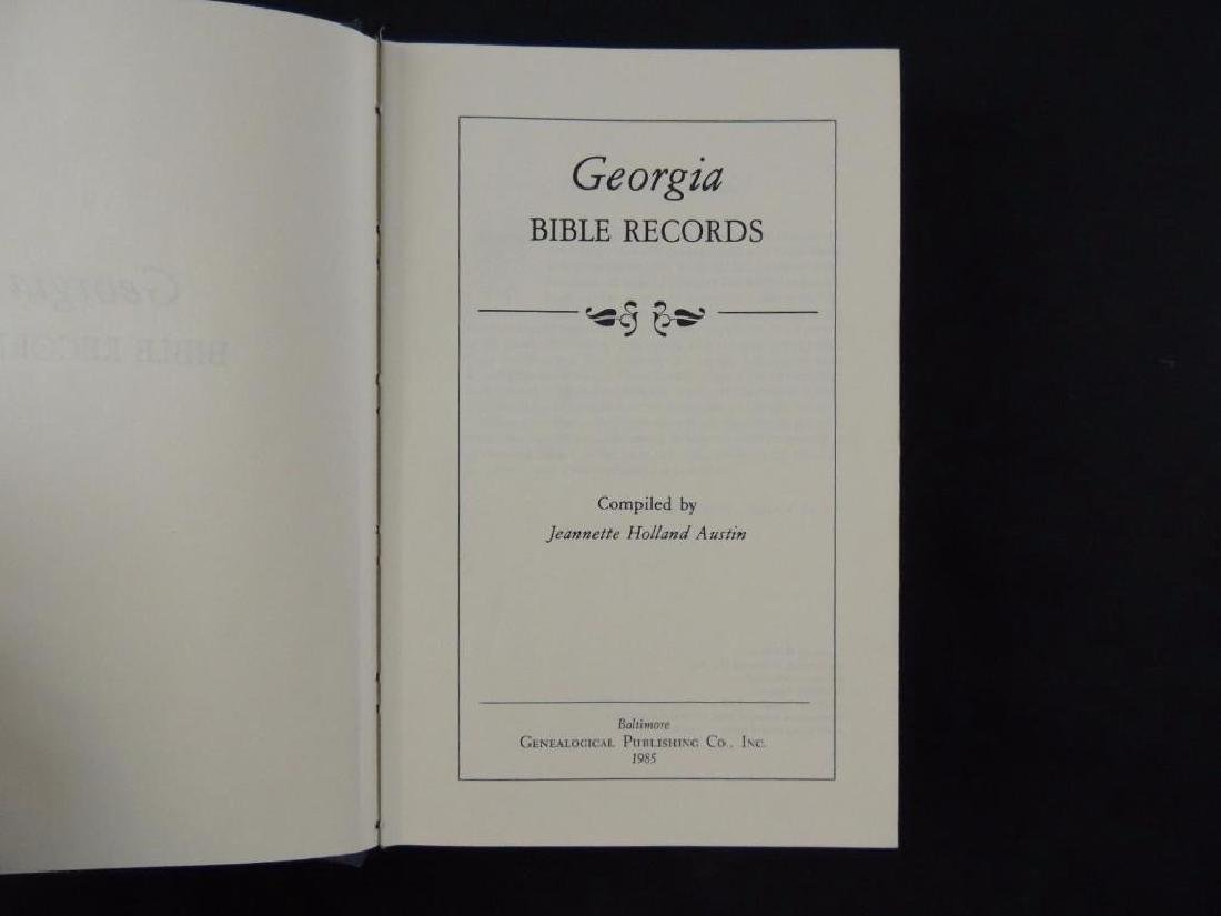 Georgia Bible Record by Jeanette Holland Austin - 2