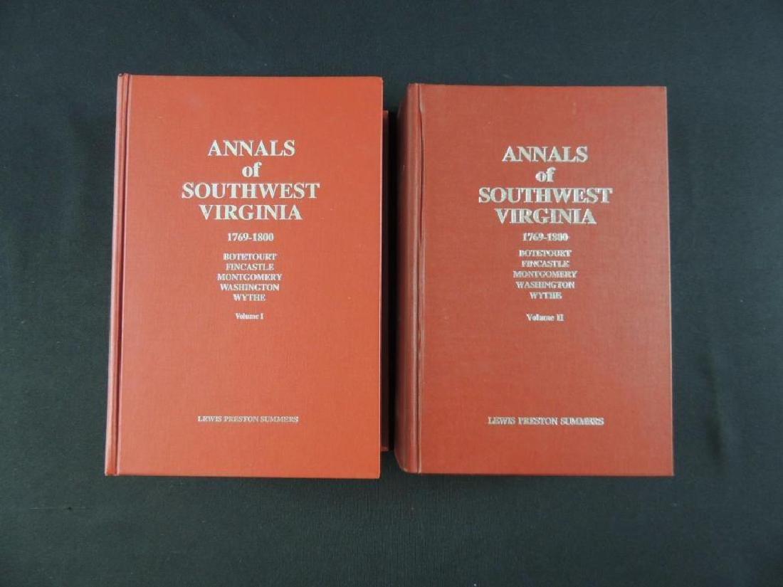 Annals of Southwest Virginia 1769-1800 by Lewis Preston
