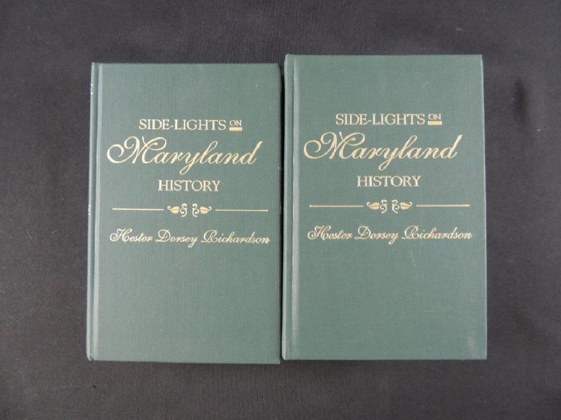 Side Lights of Maryland History by Hester Dorsey