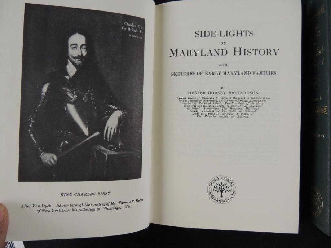 Side Lights of Maryland History by Hester Dorsey - 2
