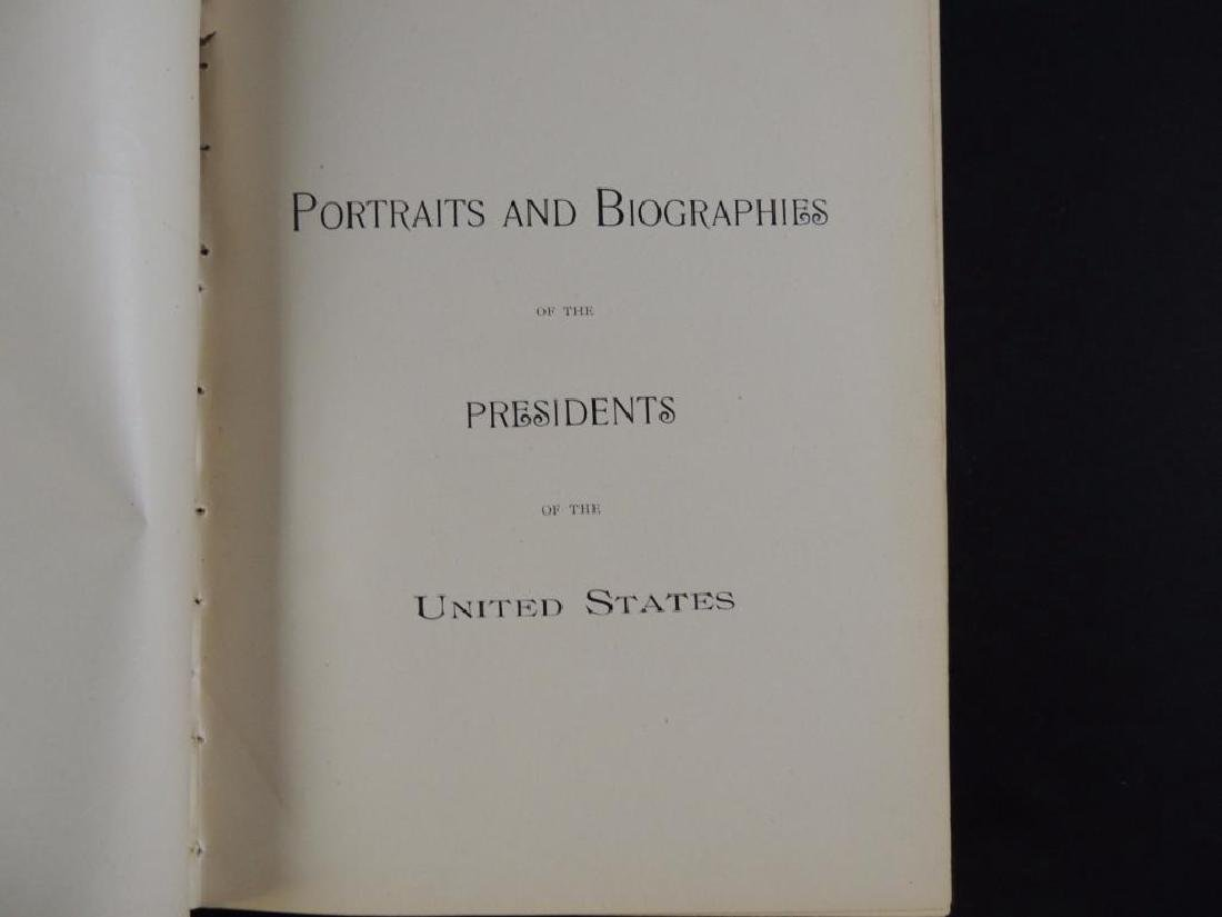 Portraits and Biographies of the Presidents of the - 2