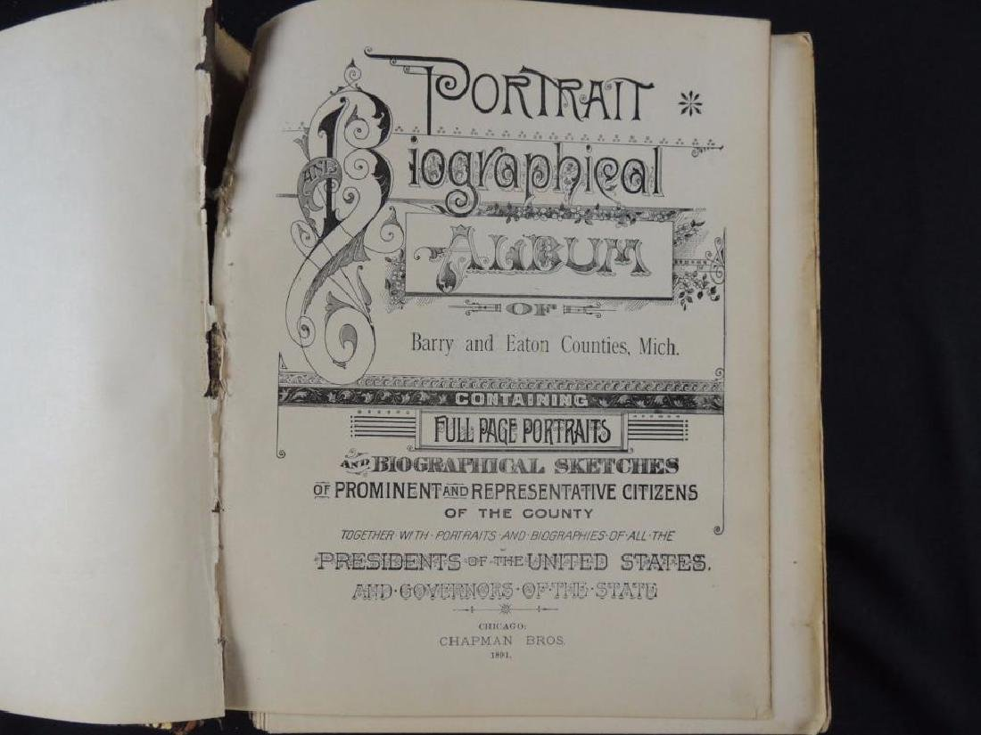 1891 Portrait and Biographical Album of Barry and Eaton - 2