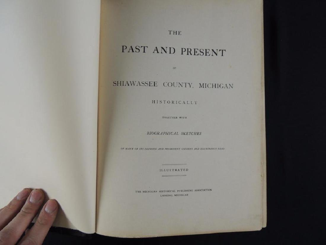 The Past and Present of Shiawassee County Michigan - 2