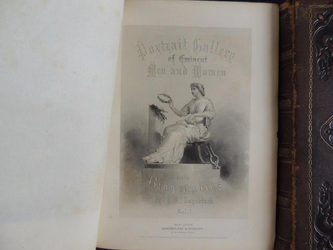 1872 Portrait Gallery of Eminent Men and Women by Evert - 2