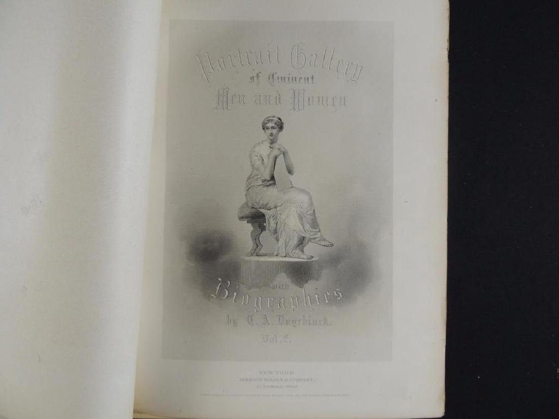 1872 Portrait Gallery of Eminent Men and Women by Evert - 4