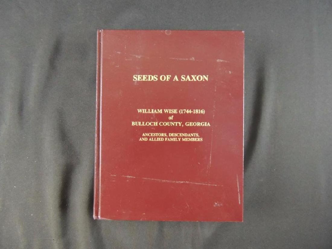Seeds of a Saxon by John Francis Wise