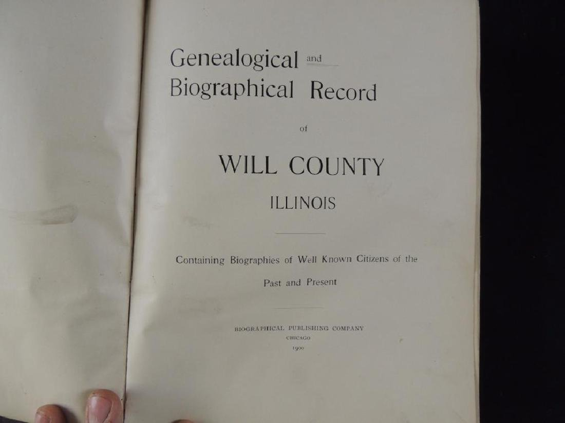 1900 Genealogical and Biographical Record of Will - 2