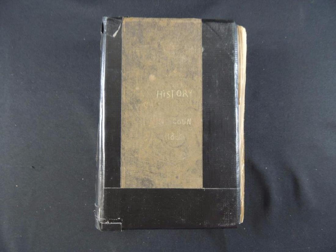 1800 History of Illinois Book