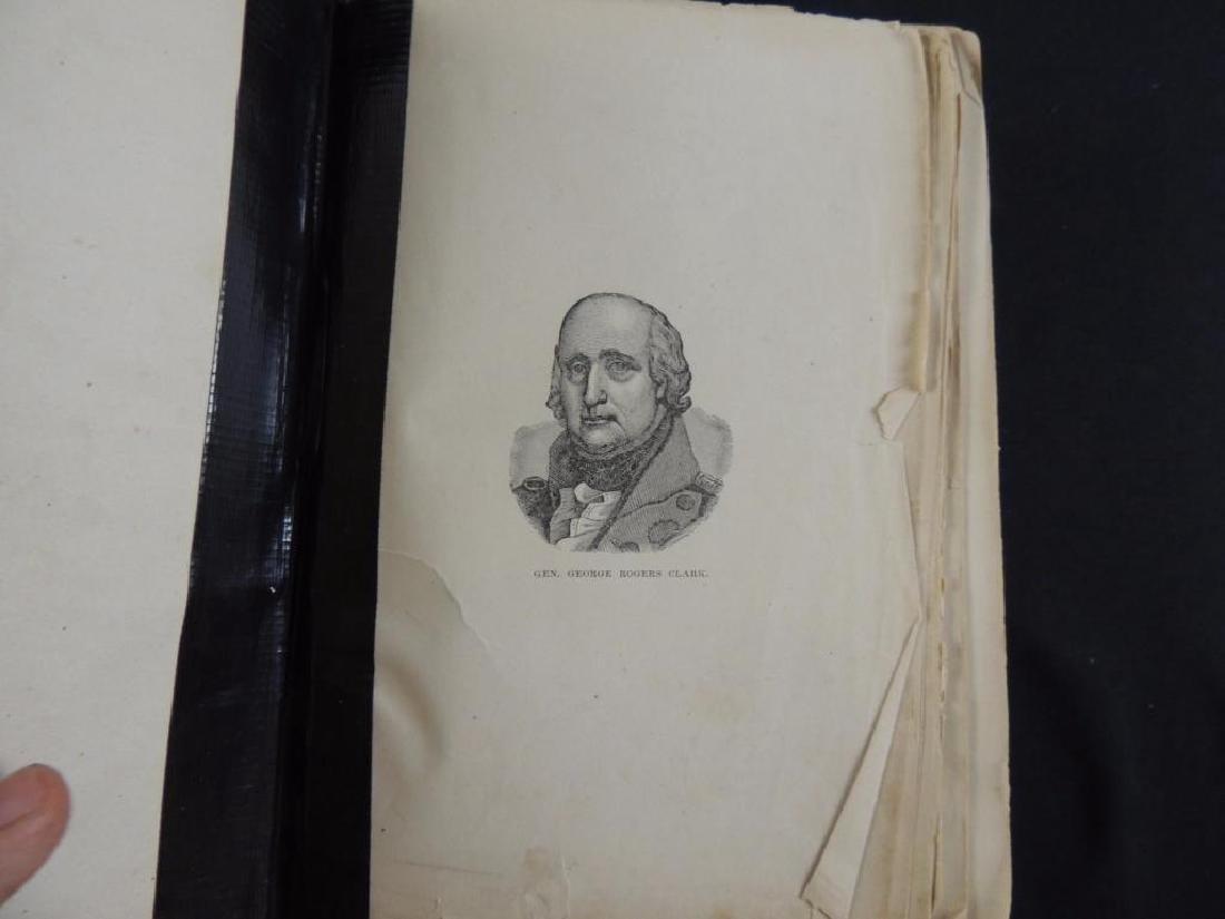 1800 History of Illinois Book - 2