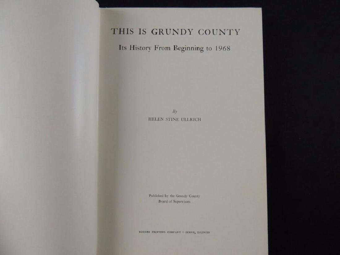 1968 This is Grundy County by Helen Stine Ullrich - 2