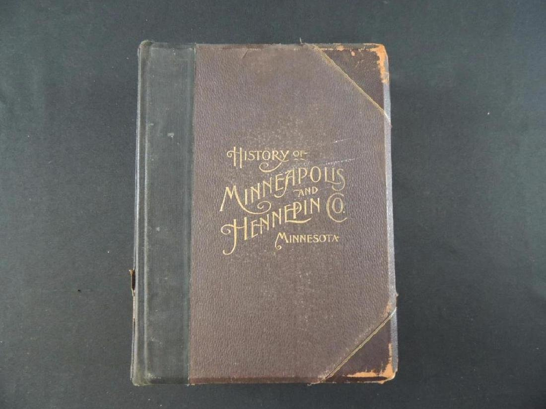 1895 History of Minneapolis and Hennepin County