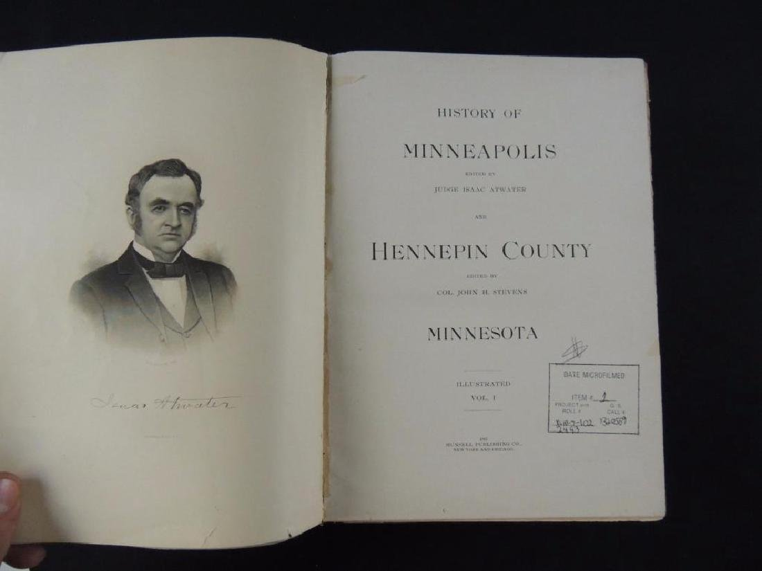 1895 History of Minneapolis and Hennepin County - 2
