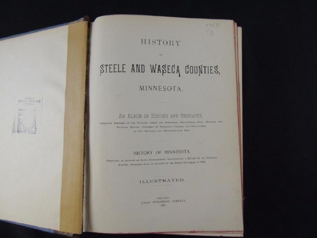1887 History of Steele and Waseca Counties Minnesota - 2