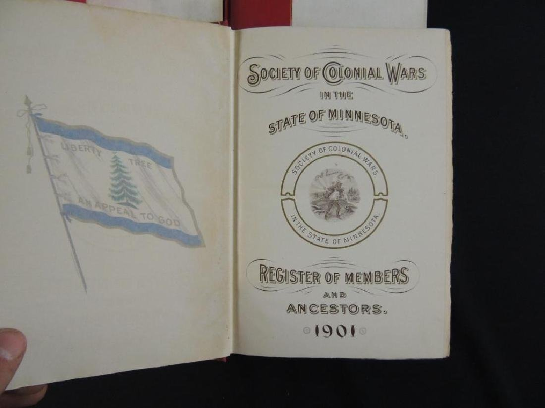 1901 Society of Colonial Wars in the State of Minnesota - 3