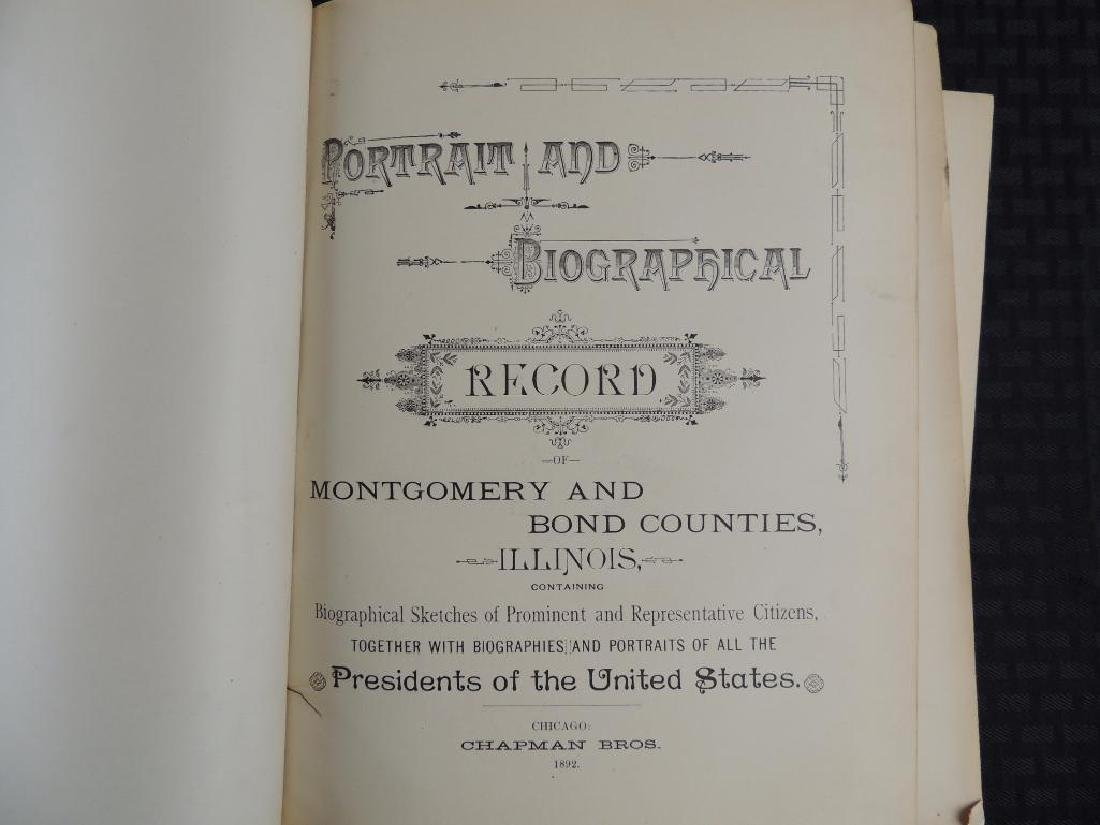 1892 Portrait and Biographical Record of Montgomery and - 2