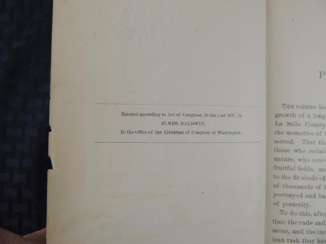 1877 History of LaSalle County Il. by Elmer Baldwin - 3