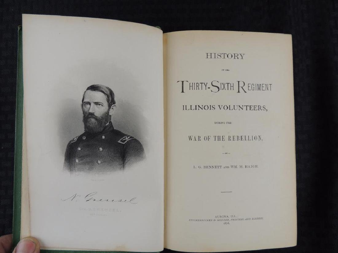 1876 History of the Thirty Sixth Regiment Illinois - 2