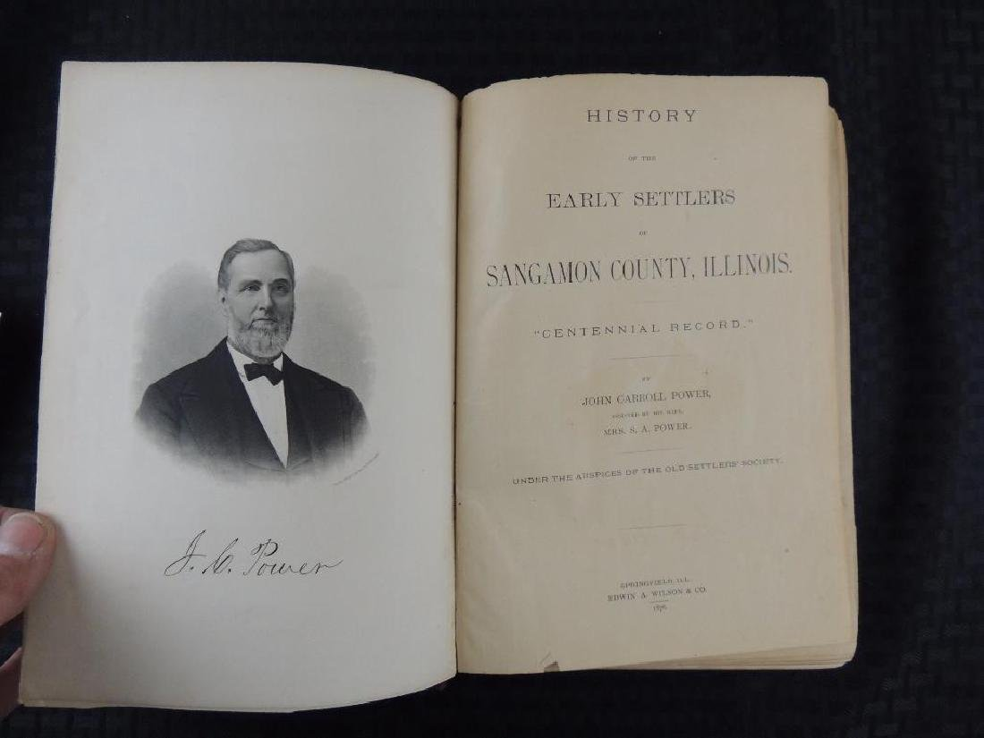 1876 History of the Early Settlers of Sangamon County - 2