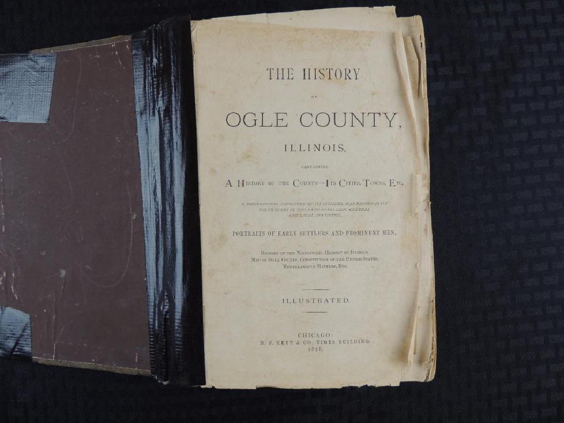 1878 History of Ogle County Illinois - 2