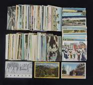 Large Group of Color Travel and Souvenir Postcards