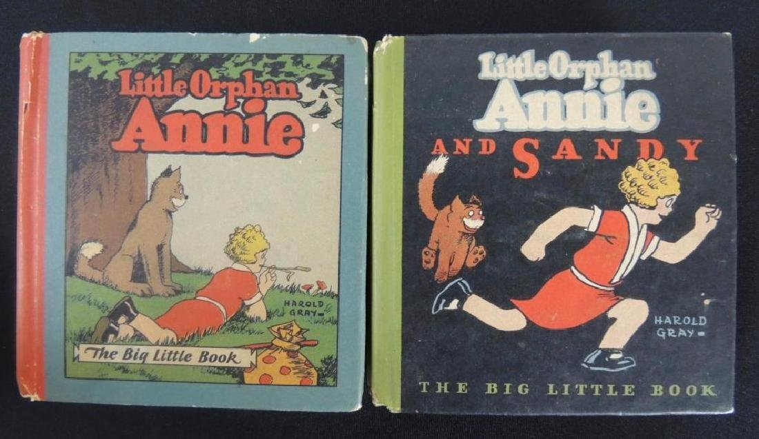 Two Vintage Big Little Books Featuring Little Orphan