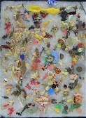 Large Group of Cracker Jack Box Toys