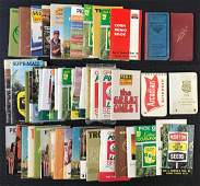 Group of Seed Corn Advertising Notebooks
