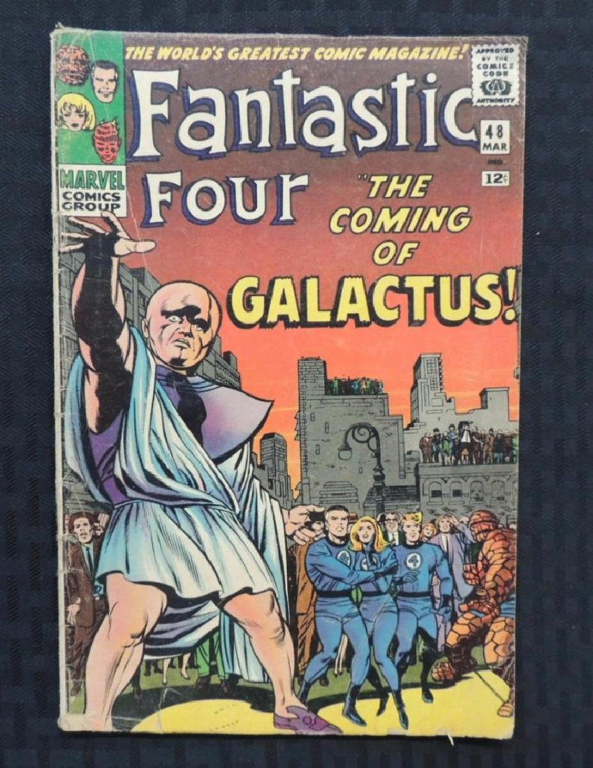 Marvel Comics The Fantastic Four #48 First Appearance