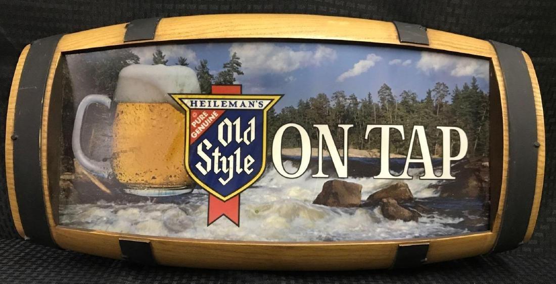 Old Style On Tap Barrel Back Beer Light - 2